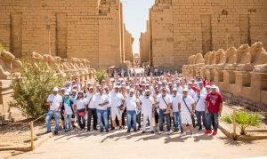Canon's MENA customers at a photography tour in Luxor, Egypt
