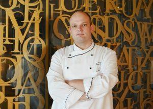 Chef Thijs Van Rhoon