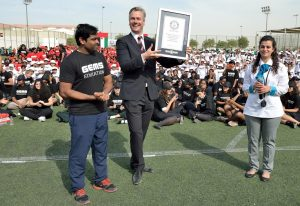 Guinness Record Largest Transforming Human Image 28 Nov 16