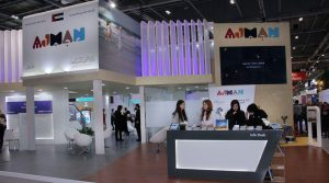 Ajman Government Stand at World Travel Market.