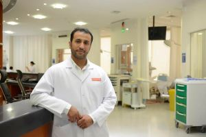 Dr. Ali Al Harbi, Middle East Medical Director, Diaverum