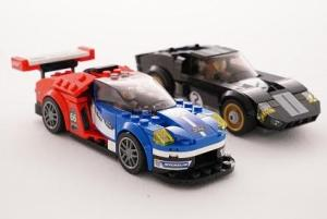 GT and GT40 Lego Speed Champions