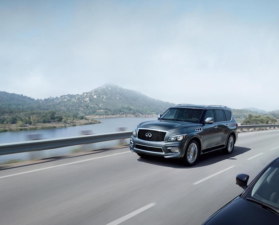 INFINITI QX80 achieves 42% growth in the premium SUV segment   mid