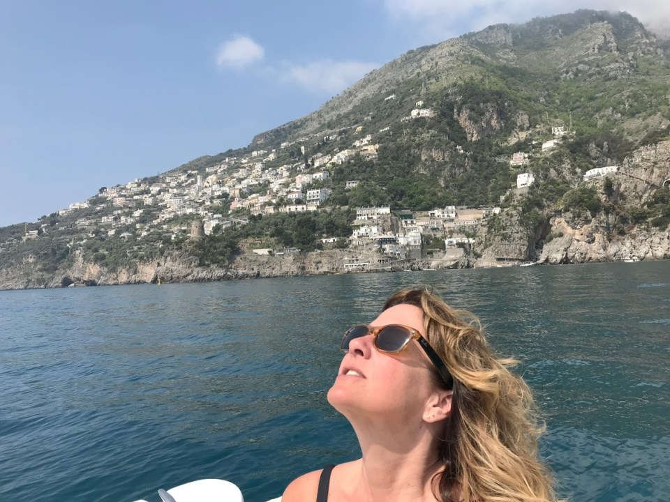 positano by boat