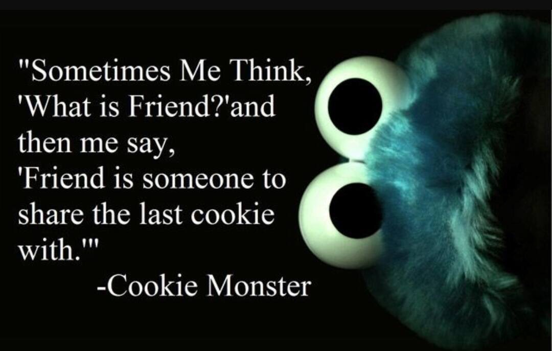 cookie monster friend
