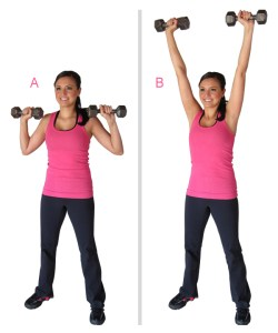 shoulder press dumbbell