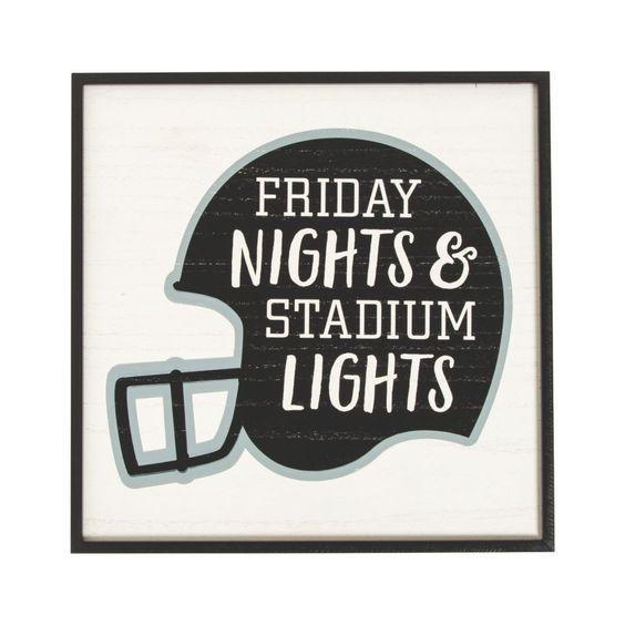 Friday Nights and Stadium Lights