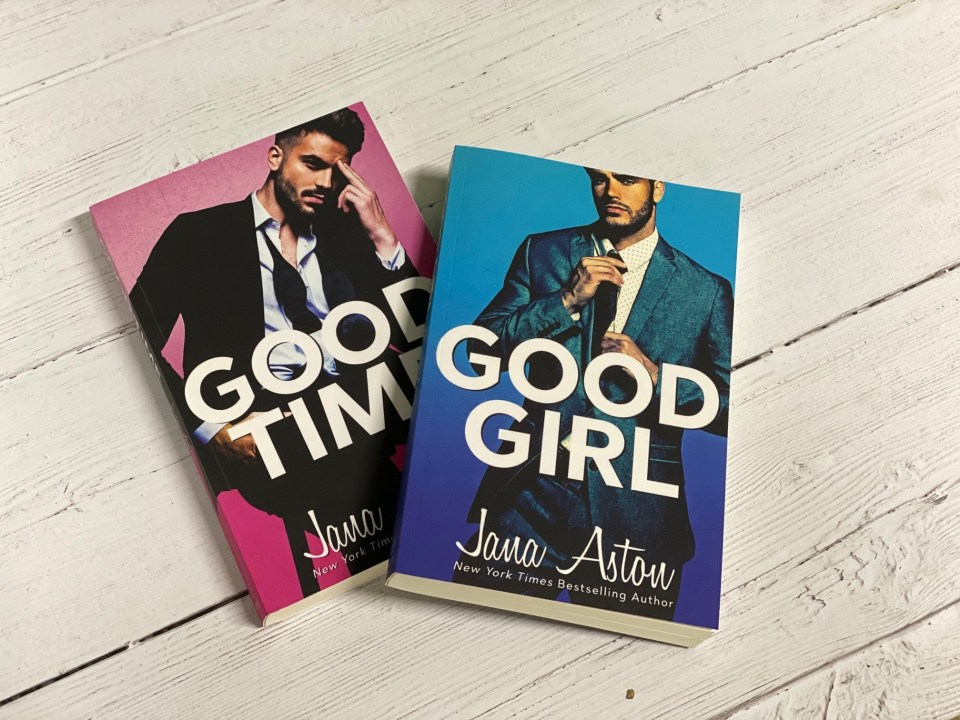Jana Aston's Good Girl and Good Time -- Best Romance Books for 2019