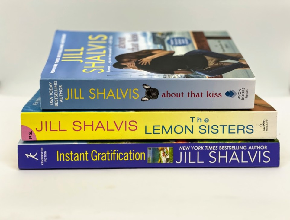 Jill Shalvis signed books for Mid-Lie Goddess Giveaway