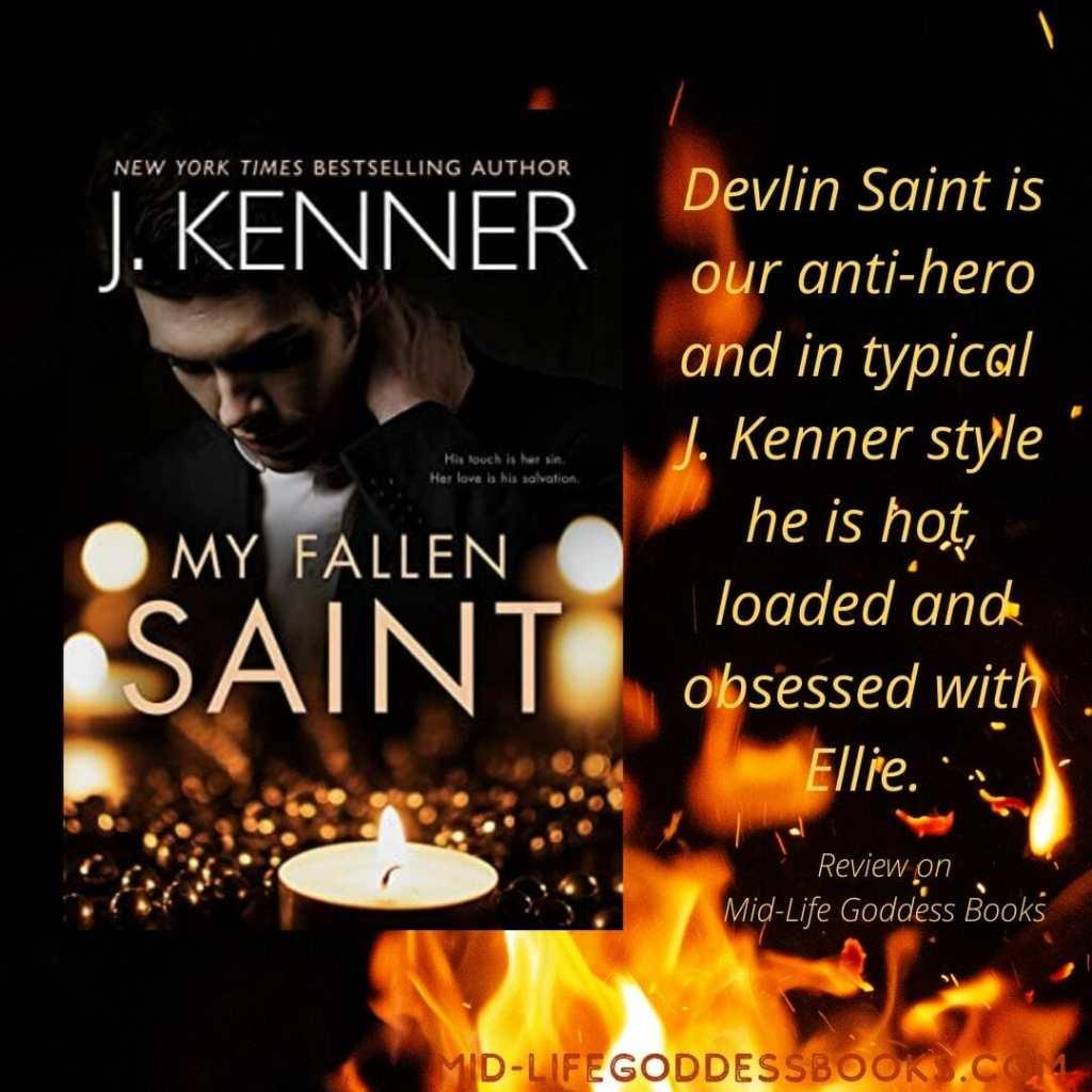 My Fallen Saint review quote