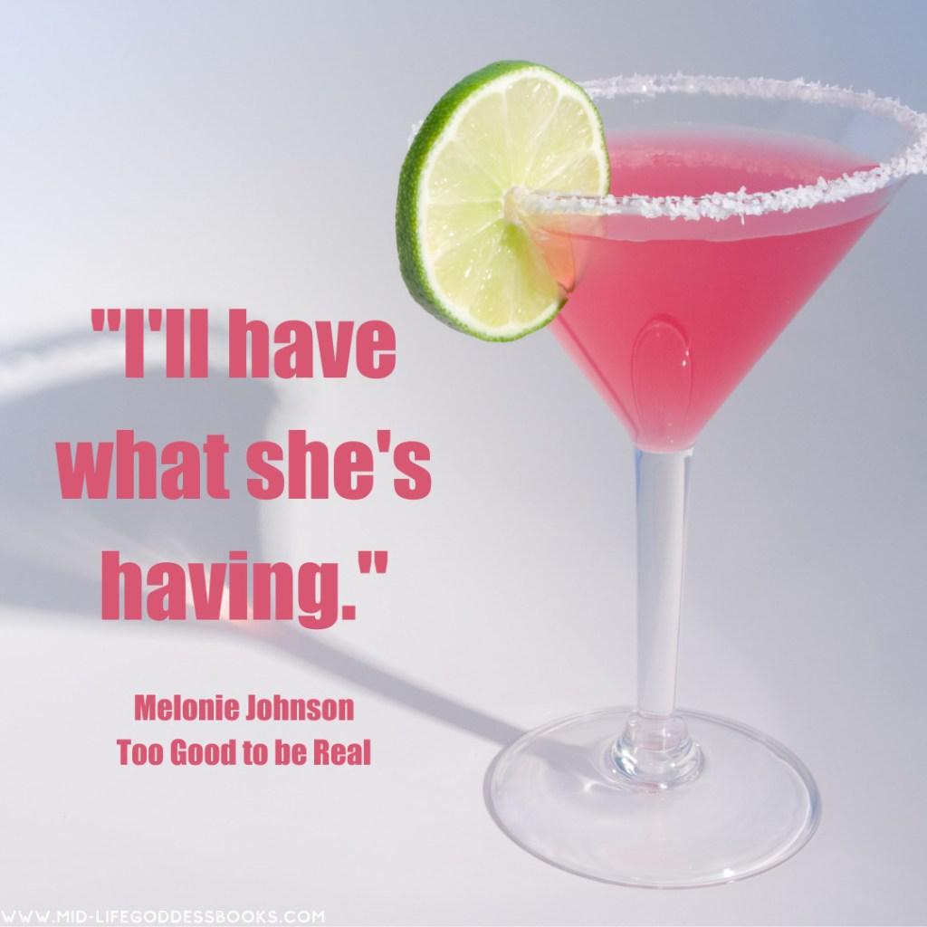 Cozmo Martini and book quote