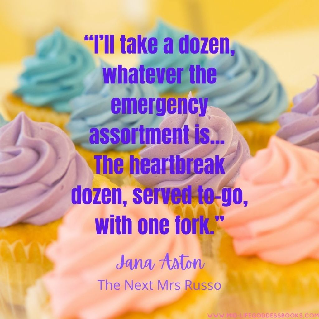 Cupcake Quote from The Next Mrs Russo