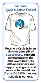 free tshirt with $25 donation or more