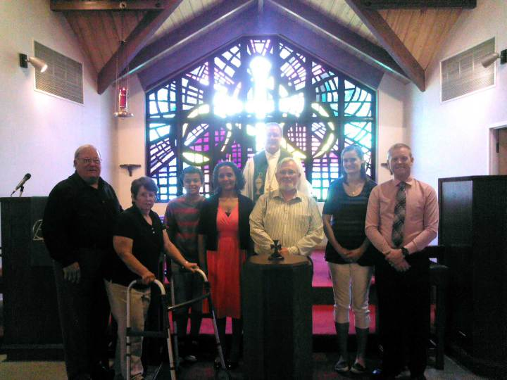 New Members welcomed at Trinity Lutheran, Gallatin