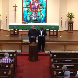 Prayer Service at Christ The King