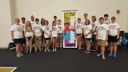 Concordia, Jackson, had eleven youth and six adult chaperones attend the Higher Things conference.