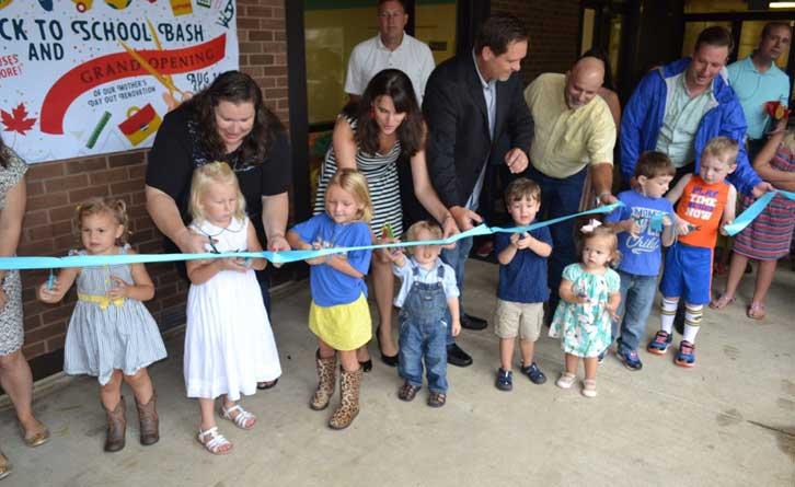 new preschool building