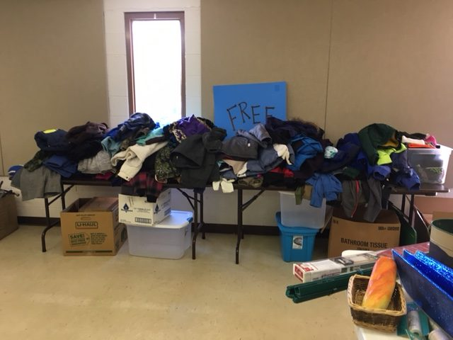 2016 Sharps Chapel coat giveaway success