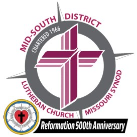 Mid-South District Reformation logo