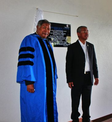 LIME's first grads, 2017, president