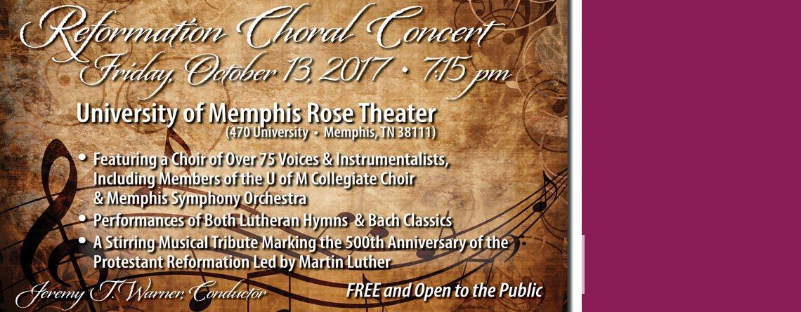 Reformation Choral Concert