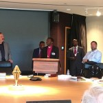 Bishop Emmanuel Makala met with the Council of Presidents