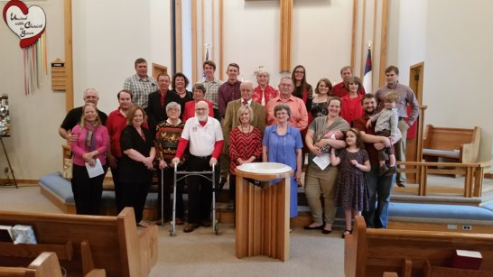 St John Fayettville AR celebrates