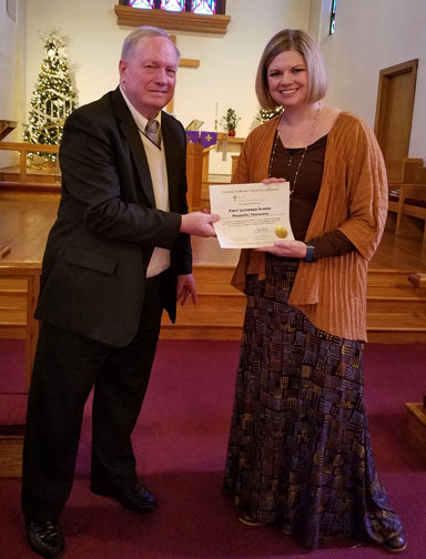 First Lutheran School received Accreditation
