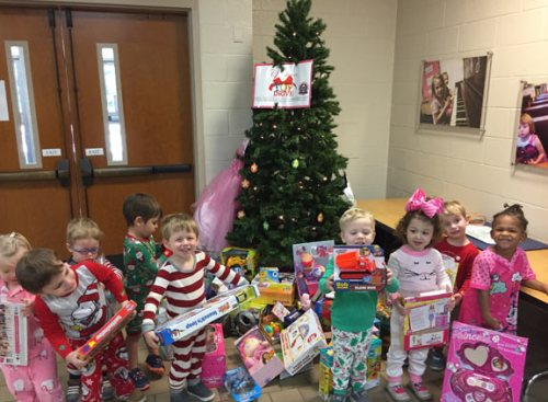 toy drive for the Metro Police Christmas Charities