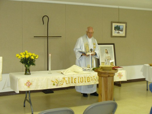 Good Shepherd Lutheran Church, Sharps Chapel, TN altar paraments