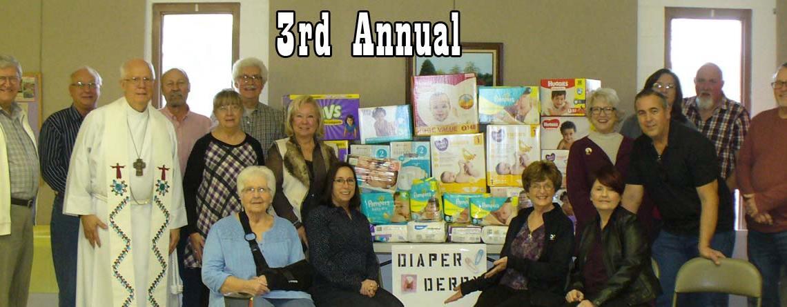 3rd Annual Diaper Derby