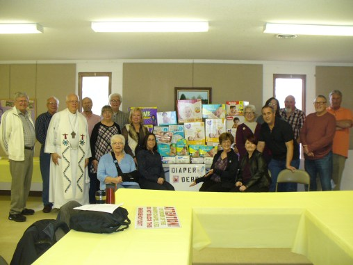 3rd annual diaper derby, 2018, Chapel of the Good Shepherd Lutheran Church
