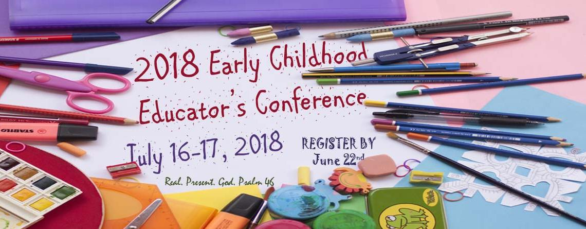 2018 Early Childhood Educator's Conference