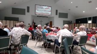 Christ Our Savior Lutheran Church honors veterans, 2018