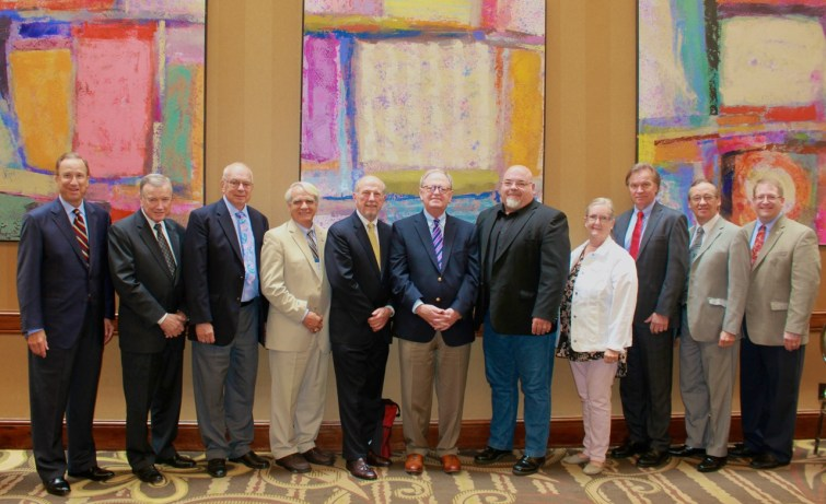 Board of Directors elected 2018 for Mid-South District of LCMS