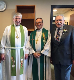 Grace Lutheran celebrates pastors ordination anniversaries