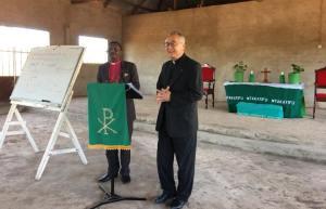 Bishop Makala and Dr Naomichi Masaki