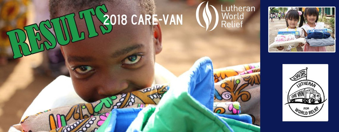 Lutheran World Relief CARE-VAN 2018-recap
