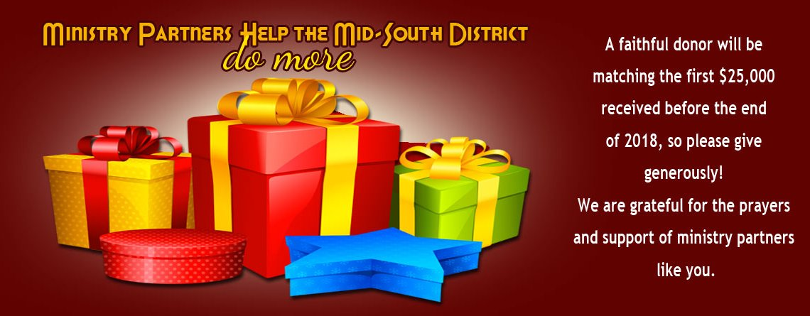 Ministry Partners Help the Mid-South District Do MORE