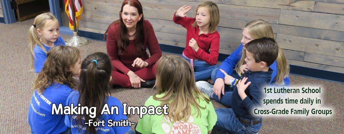 Cross-Grade Family Groups Makes an Impact