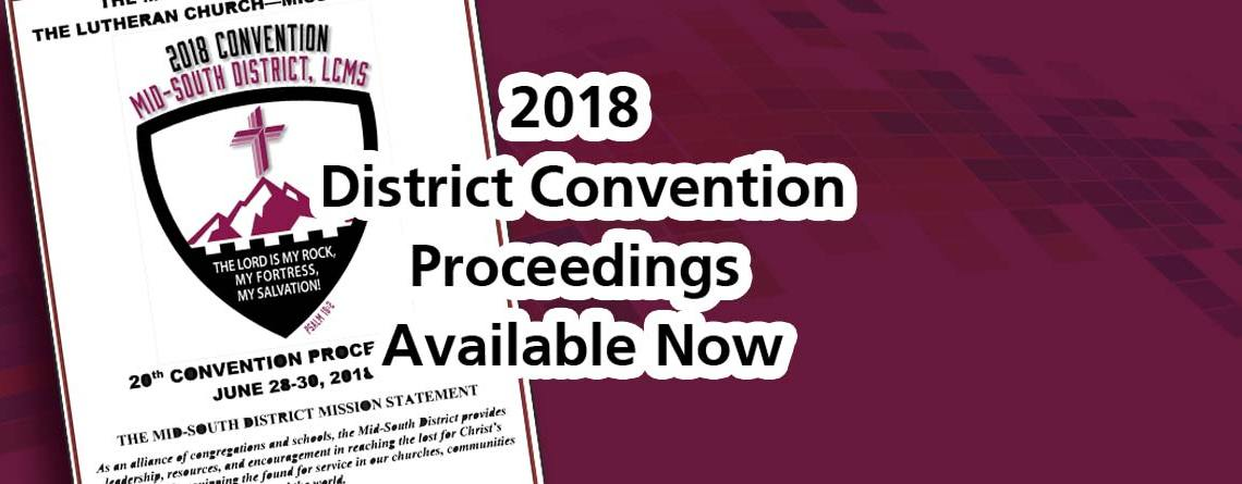 District Proceedings