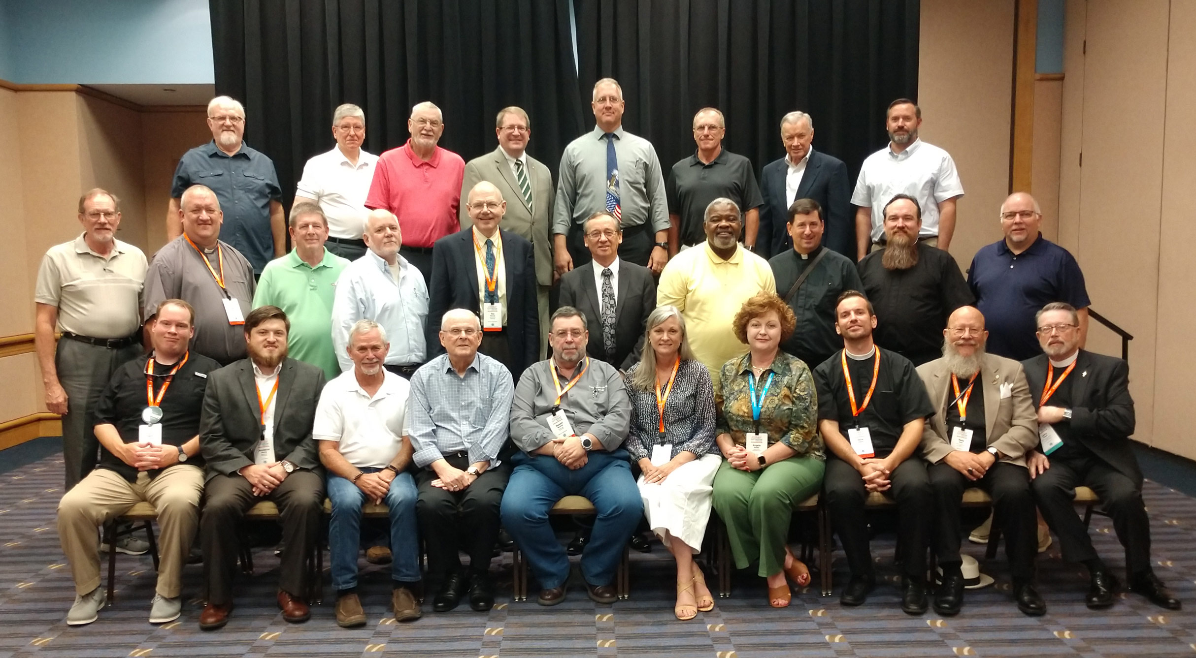 Mid-South District delegates serving at 2019 LCMS convention