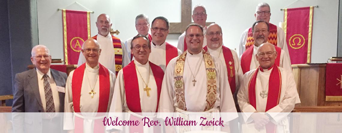 Ordination and Installation Rite for Rev. William Zwick