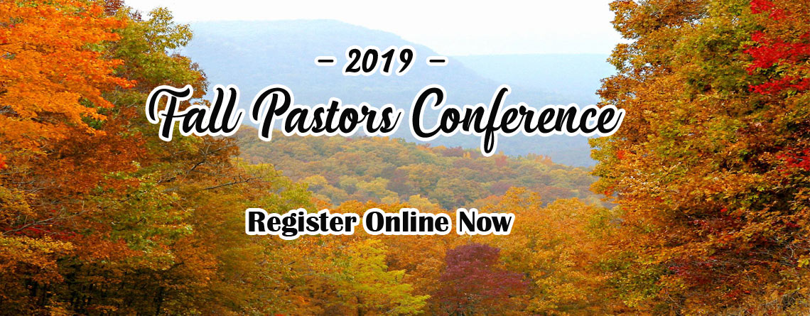 2019 Fall Pastors Conference