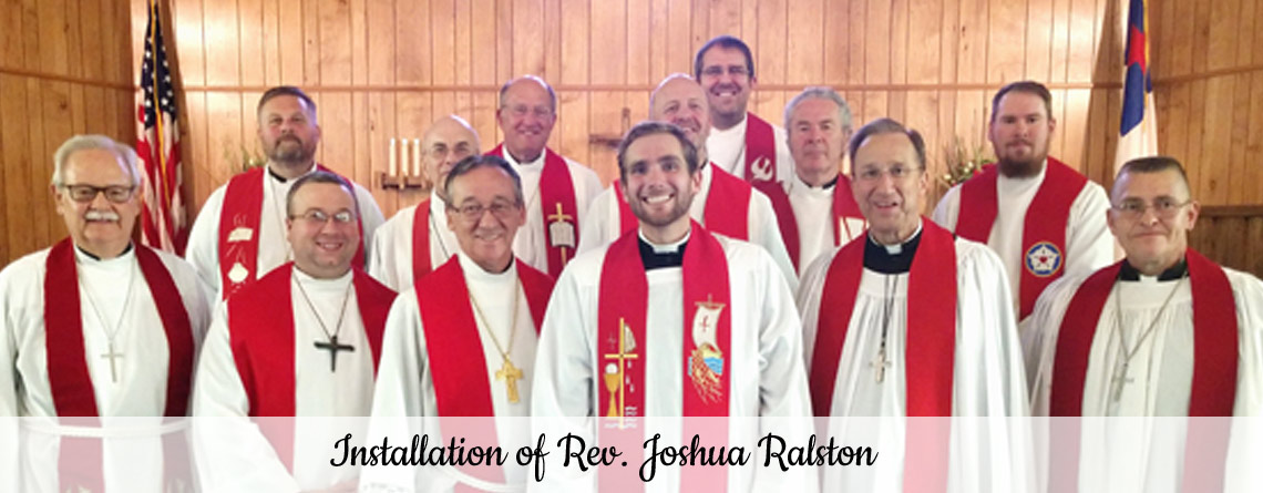 Installation of Rev. Joshua Ralston
