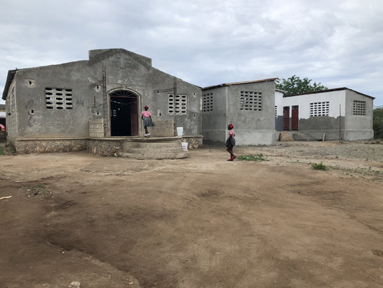 Colminy Church and school in Haiti