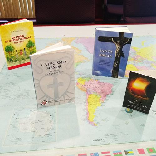LHF Spanish Gospel books