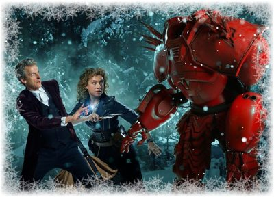 The Doctor, River Song, and Hydroflax