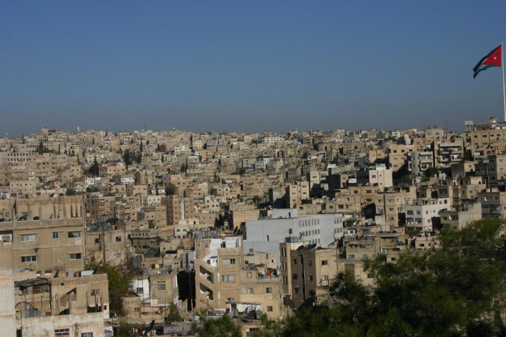 88% פלסטינים; בירת ירדן, עמאן. צילום: quantestorie CC BY-NC 2.0