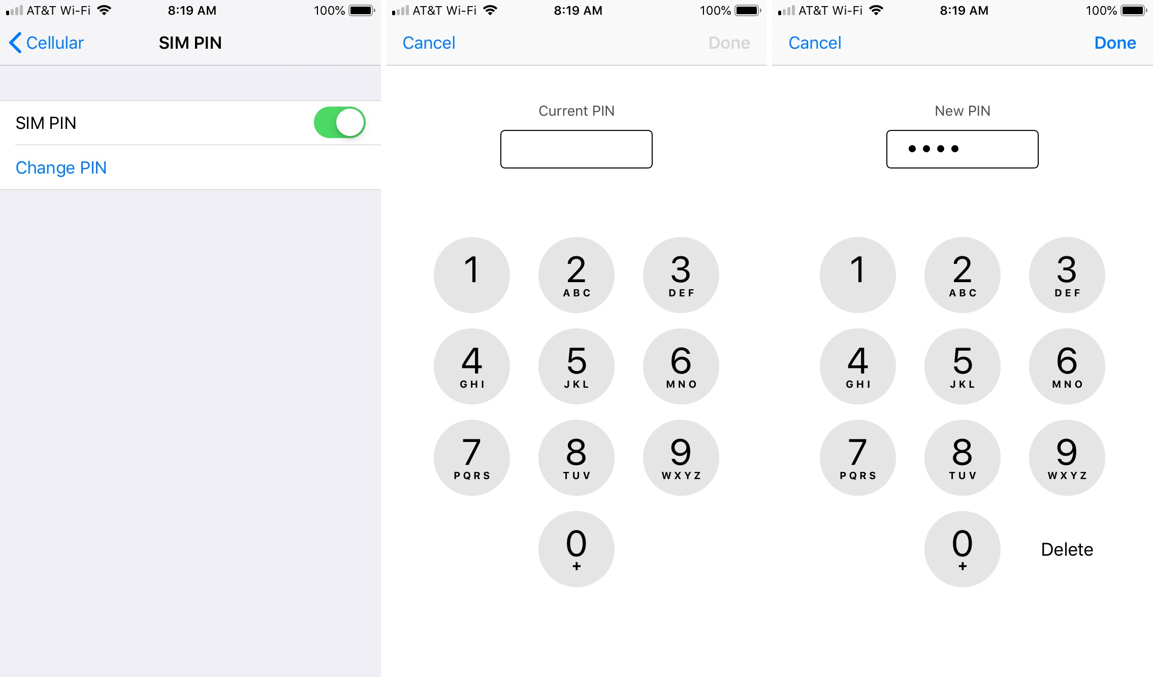 How To Change The Sim Pin On Iphone